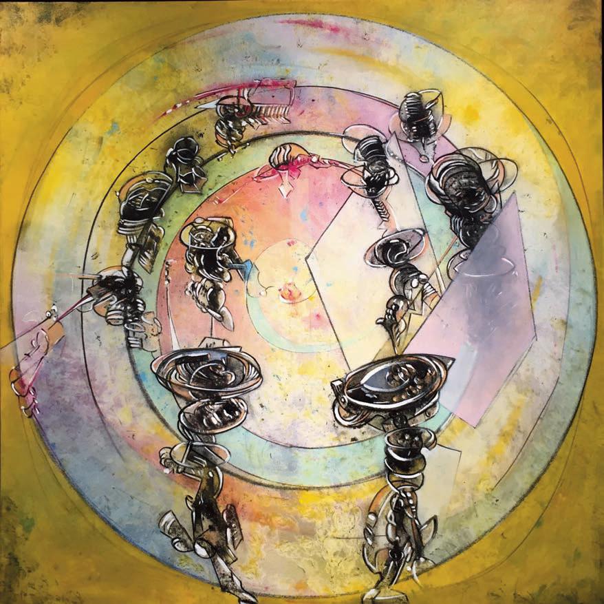 Orbiting Artefactos, by Carlos Carulo